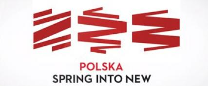 Poland as a spring, logo for Poland